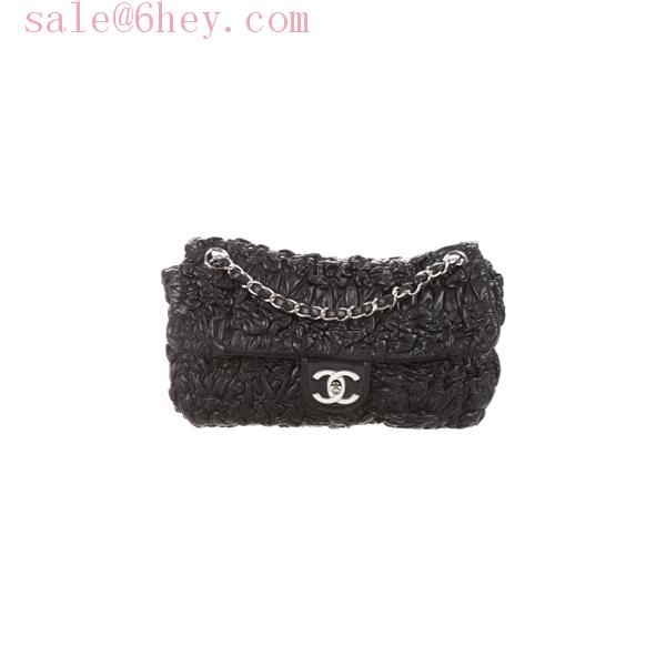 chanel boy bag black and gold
