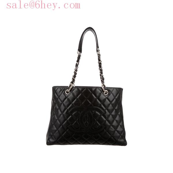 chanel petite timeless shopping tote