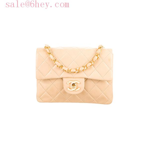 chanel wallet on chain beige